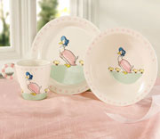 Jemima Puddle-Duck China Nursery Set