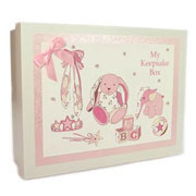 Traditional Baby Girls Keepsake Box