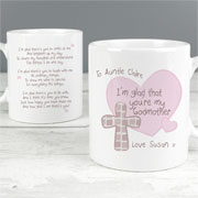 Personalised Godmother/Godfather Mug