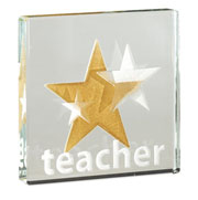 Teacher Gold Star Token