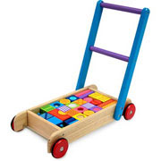 Baby Walker with Pattern Blocks by I'm Toy