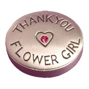 Thank You Flower Girl Keepsake Pot