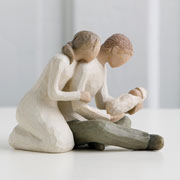 Willow Tree Figurine New Life New Parents Gift