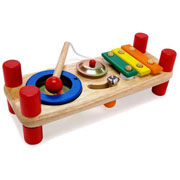 Tutti Tune Bench by I'm Toy