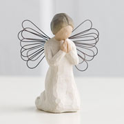 Willow Tree Figurine Angel of Prayer