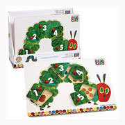 Very Hungry Caterpillar Wooden Peg Puzzle