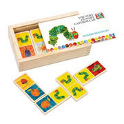 The Very Hungry Caterpillar Wooden Dominoes