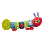 The Very Hungry Caterpillar Teether Rattle Baby Toy