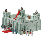 Fair Trade Wooden Castle and Characters