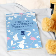 Personalised Alice in Wonderland Novel - Free Delivery