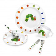 Portmeirion Very Hungry Caterpillar Boxed Melamine Gift Set