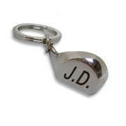 Initial Golf club Keyring