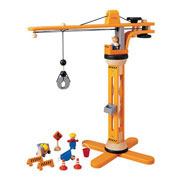 Wooden Crane Set by Plan Toys