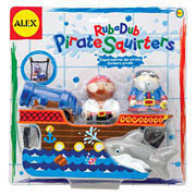 Rub-a-Dub Pirate Bath Squirters