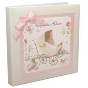 Baby Girls Keepsake Album - Rose Cottage