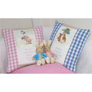 Personalised Beatrix Potter Cushion