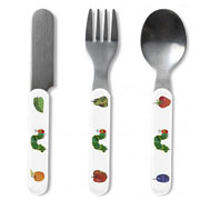 Very Hungry Caterpillar 3 Piece Cutlery Set