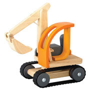 Wooden Excavator by Plan Toys