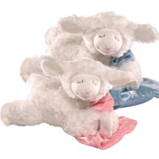 Gund Musical Prayer Lamb Soft Toy Pink or Blue