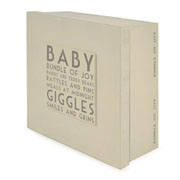 Wooden Baby Keepsake Box by East of India