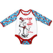 Cat in the Hat Babygrow