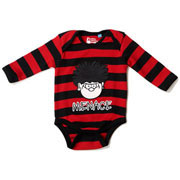 Dennis the Menace Stripe Babygrow