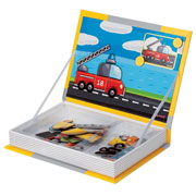 Janod Magnetic Book - Vehicles
