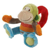 Monkey Mo Rattle by Happy Horse