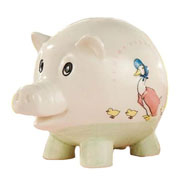 Jemima Puddle-Duck Piggy Bank