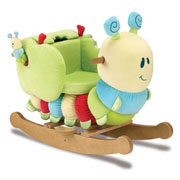 Curious Caterpillar Toddler Rocker