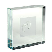 New Baby Feet Paperweight from Spaceform