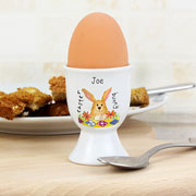 Personalised Easter Bunny China Egg Cup
