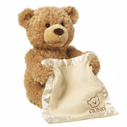Peek a Boo Teddy Bear by Gund