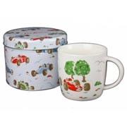 Cath Kidston Mug in a Tin - Racing Cars