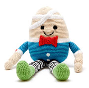 Pebble Fair Trade Crocheted Humpty Dumpty Soft Baby Toy