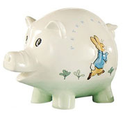 Peter Rabbit Piggy Bank