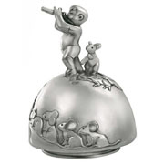 The Pied Piper Pewter Musical Carousel by Royal Selangor