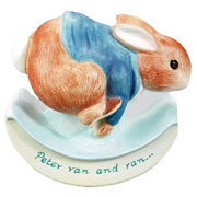 Peter Ran and Ran Rocking Ceramic Money Box Children's Gift