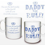 Daddy You Rule Mug