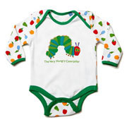 Very Hungry Caterpillar Babygrow