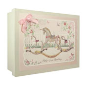 Baby's First Birthday Keepsake Box - Girl