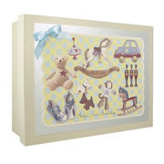 Baby's First Birthday Keepsake Box - Boy