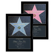 A Star is Born Personalised Framed Award