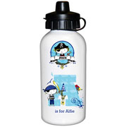 Personalised Pirate Drinks Water Bottle