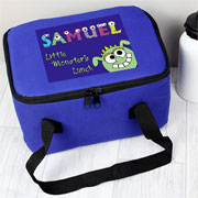 Personalised Little Monster Insulated Lunch Sandwich Bag