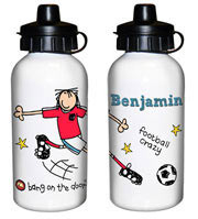 Bang on the Door Football Crazy Drinks Water Bottle