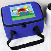 Personalised Zoo Insulated Lunch Sandwich Bag