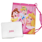 Disney Princess Swim Bag & Personalised Towel
