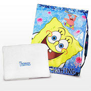 Spongebob Squarepants Swim Bag & Personalised Towel