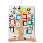 Fabric Family Tree Picture Wall Hanging by Oskar and Ellen